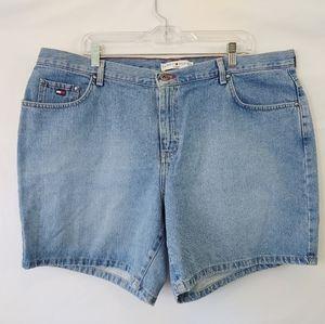 Tommy Hilfiger High Rise Mom Shorts plus sz 20